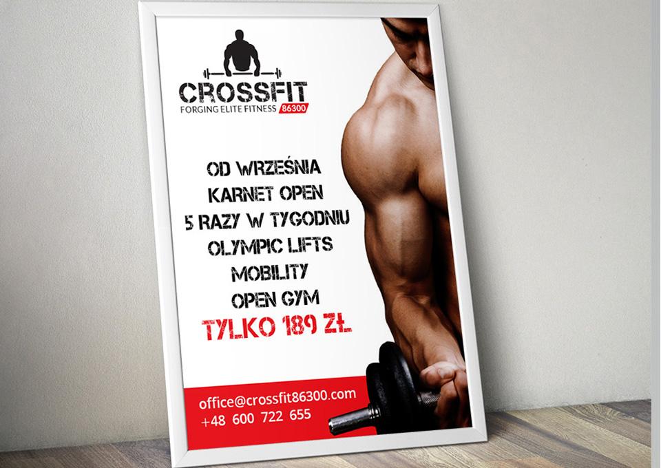 Projekt plakatu - Crossfit 86300
