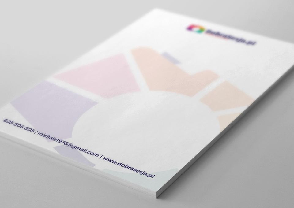 Projekt papieru firmowego a4 - Dobrasesja.pl