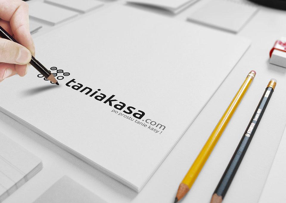 Taniakasa.com - projekt logo
