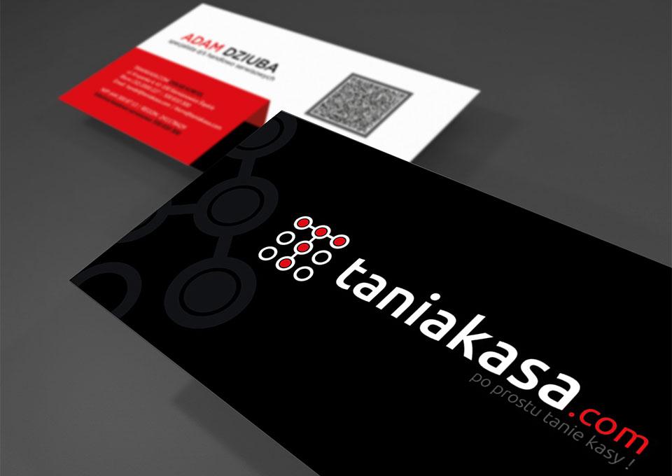 Wizytówki standard - taniakasa.com