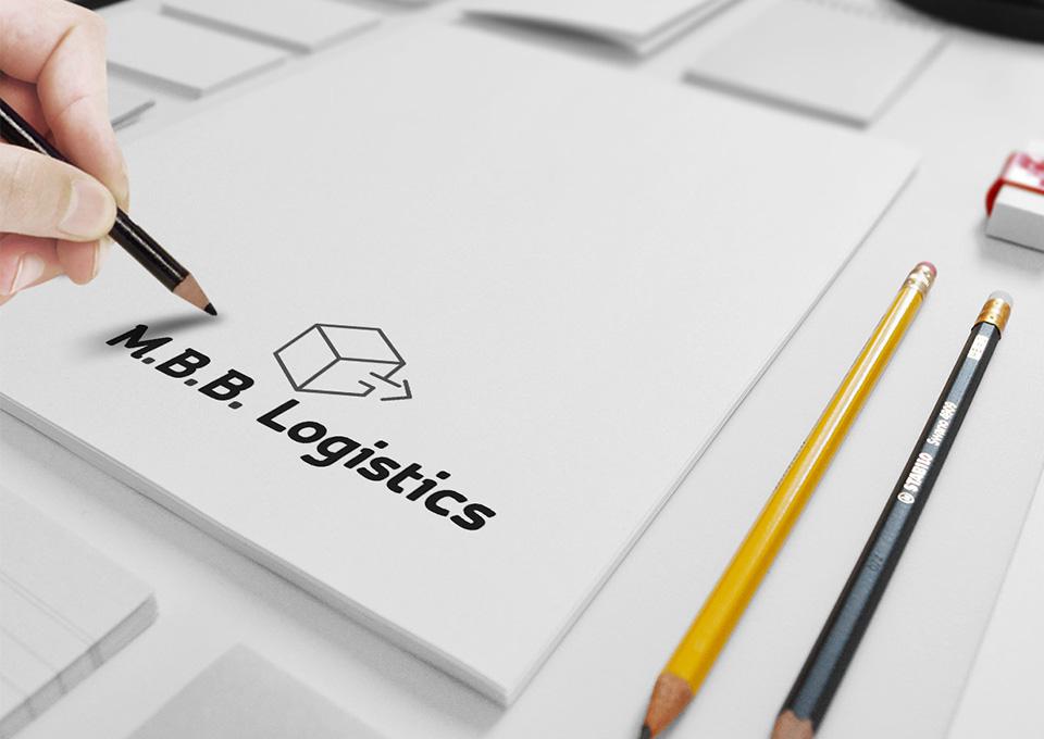 Projekt logo M.B.B. Logistics